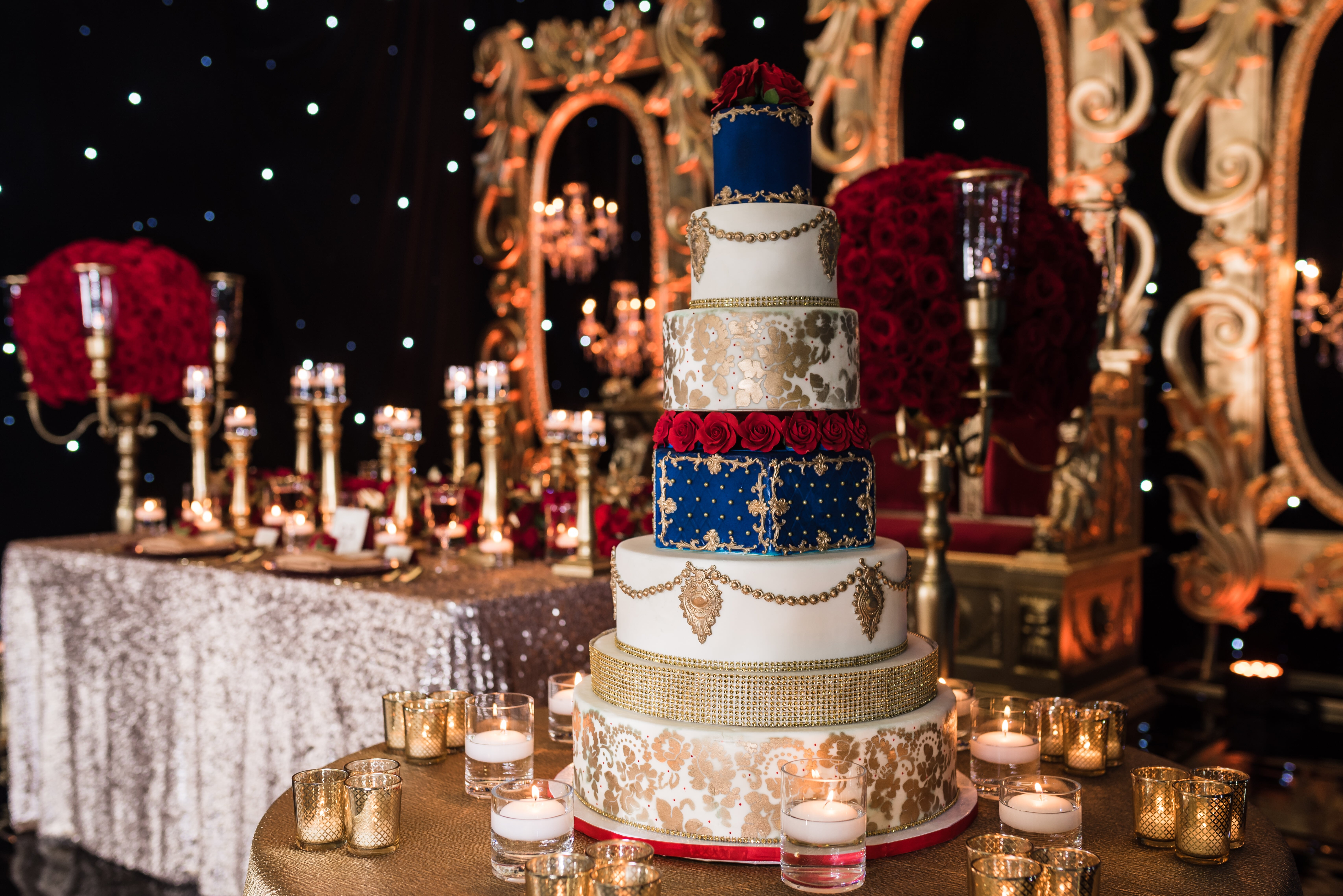 Beauty And The Beast Indian Wedding Styled Shoot For South Asian